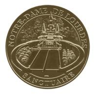Monnaie De Paris , 2016 , Lourdes , Notre Dame De Lourdes , Sanctuaire - Monnaie De Paris
