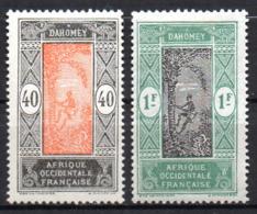 Col17  Colonie Dahomey  N° 53 & 57 Neuf X MH  Cote 2,50€ - Unused Stamps