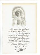 CECILE SOREL 1873 PARIS 1966 TROUVILLE SUR MER COMEDIENNE PORTRAIT GRAVE AUTOGRAPHE BIOGRAPHIE ALBUM MARIANI - Documents Historiques