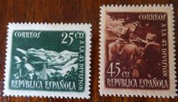&91A& ESPAÑA, SPAIN EDIFIL 787/788, MICHEL 732/733, YVERT 632/633 MH*. SEE PICTURES... - 1931-50 Ungebraucht
