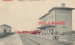 13 // RASSUEN  ( Istres ) La Nouvelle Gare PLM - Istres