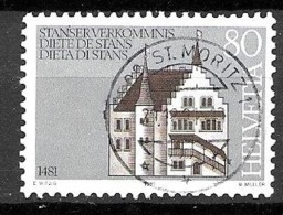 Schweiz Mi. Nr.: 1205 Vollstempel  (szv70er) - Used Stamps