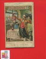 Apéritif Vin DUBONNET Calendrier 3 Volets Souvenir 1920 Affiche ART DECO étapes Guerre 14  18 Alsace - Kalenders