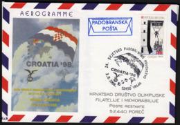 Croatia Vrsar 1998 / 24th World Parachuting Championship In Style & Accuracy CROATIA '98 / Parachutting Mail - Parachutting