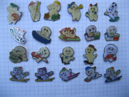 BIO STEINFELS Lot De 21 Pin's - Badges