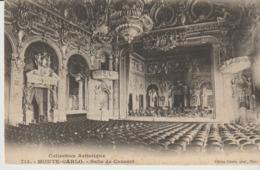 CP - MONTE CARLO - SALLE DE CONCERT - 713 - GILETTA - Opernhaus & Theater