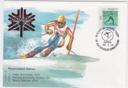 Canada Cover 1988 Olympic Games Calgary - Riesenslalom Damen  (EB1-49) - Winter 1988: Calgary