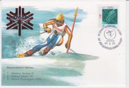 Canada Cover 1988 Olympic Games Calgary - Riesenslalom Herren  (EB1-49) - Winter 1988: Calgary