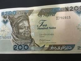 NIGERIA P29r 200 Naira 2018 UNC. - Nigeria