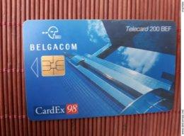 Phonecard Cardex 98 Belgium Used Rare - Belgique