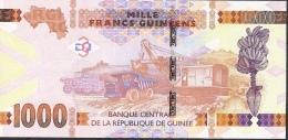 GUINEE GUINEA P48a 1000 FRANCS 2015   UNC. - Guinee