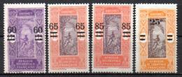Col17  Colonie Dahomey  N° 66 à 69 Neuf X MH  Cote 8,00€ - Unused Stamps