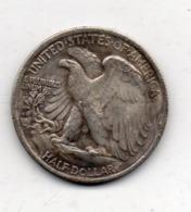 USA : 1/2 Dollar 1918 - Émissions Fédérales