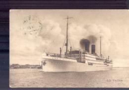 SS Patria - 1921 - Postagent Rotterdam - Rotterdam