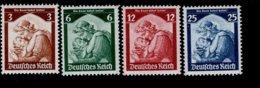 Deutsches Reich 565 - 568 Saarabstimmung MNH Postfrisch ** Neuf - Deutschland