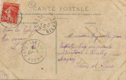 CP Envoi à Regnault à Rully Pat Chagny Saone Et Loire. CP Cosne Sur Loire Caserne Binot - Autres Communes