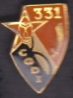 1 PIN'S - 33I CGDI REGIMENT - Armee