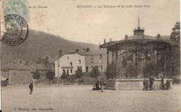 NOUZON - Le Kiosque Et Le Café Belle-Vue - Francia