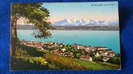 Neuchâtel Et Les Alpes Switzerland - NE Neuchâtel