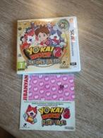 Jeu  NINTENDO  3  DS   YO KAI WATCH 2 Fantômes Bouffis +  Medaille   En L Etat Sur Les Photos - Nintendo 64
