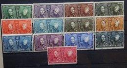 BELGIE  1925   Nr. 221 - 233     Gestempeld   CW  65,00 - Belgique