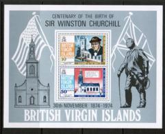 VIRGIN ISLANDS  Scott # 278-9a** VF MINT NH INCLUDING Souvenir Sheet (SS-419) - British Virgin Islands