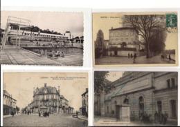 Lot De 23 Cpa Du Département Charente Villes Et Villages - Francia