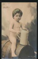 BELLE FILLETTE  MOOIE MEISJE  CARTE PHOTO  FOTOKAART  NUDE - Kinder
