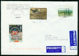 Br Finland Cover Sent To Germany, Crailsheim | Tampere 2.7.2002 - Finland