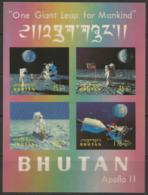 Bhutan,Apollo XI 1969.,block-b,format-3D,MNH - Bhután