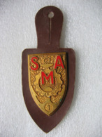 Insigne Militaire Du Génie SMA:  Régiment De Service Militaire Adapté CFP Antilles, Guyane. Ref: G2084 - Armée De Terre