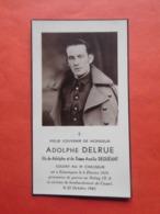 Adolphe Delrue Estaimpuis 1919 Cassel 1943 / WW2 Soldat 3e Chasseur / Stalag IX A - Décès