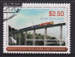 New Zealand 2008 Trains - North Island Trunk Line $2.50 Used - Gebruikt