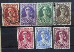 BELGIE  1931    Nr. 326 - 332  Gestempeld   CW  77,50 - Belgique