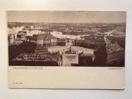 Denmark Copenhagen Kjobenhavn Amalienborg Slotsplads Steam Ship River Statue 11580 Post Card Postkarte POSTCARD - Danemark