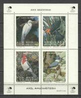 Argentina 1993 Mi Block 55 MNH BIRDS - Non Classés