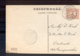 Laren Langebalk Station 1 - St Anna Paroorie Langebalk 1912 - Postal History
