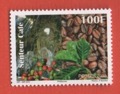 W41 Polynésie ** 2015 1087 Senteur Café - Polynésie Française