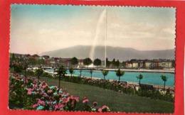 Genève - Quai Gustave Ador Et Le Jet D'eau - GE Ginevra