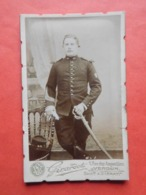 Photo Militaire Armée Française 40 ème Régiment Infanterie / Ph. Girardot à Verdun Vers 1910 - 1914-18