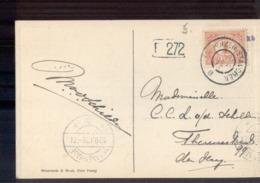 Enkhuizen Stavoren B - 1912 - Postal History