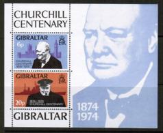 GIBRALTAR  Scott # 316-7a** VF MINT NH INCLUDING Souvenir Sheet (SS-420) - Gibraltar