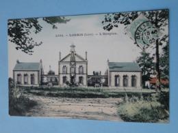 LORRIS  (Loiret) -- L'Hospice - Belle Cpa Colorisée 1907 - France