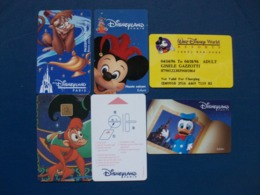 5 Cartes - Disney Passports