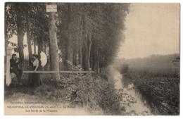 CPA 78 - NEAUPHLE LE CHATEAU (Yvelines) - Le Pontel, Les Bords De La Mauldre - Ed. Laumaillier (animée) - Neauphle Le Chateau