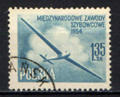 POLONIA - 1954 - Intl. Glider Championships, Leszno - USATO - Gebraucht