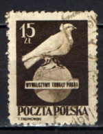 POLONIA - 1950 - Day Of Intl. Action For World Peace - USATO - Gebraucht