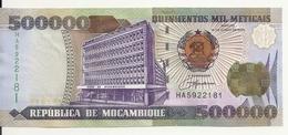 MOZAMBIQUE 500000 METICAIS 2003 UNC P 142 - Mozambique