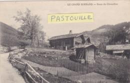 CPA :  14 X 9  -  LE  GRAND  BORNAND.  -  Route  Du  Chenaillon - Otros Municipios