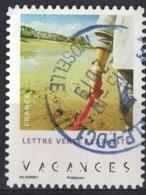 France 2019 Oblitéré Rond Daté Used Carnet Enfants En Vacances Septième Photo SU - Gebruikt